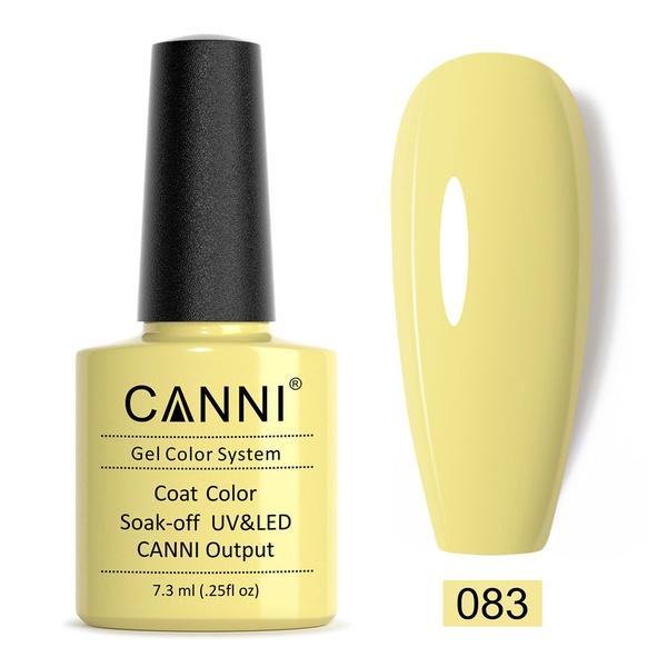 CANNI UV/LED gél lakk 7.3 ml No.083