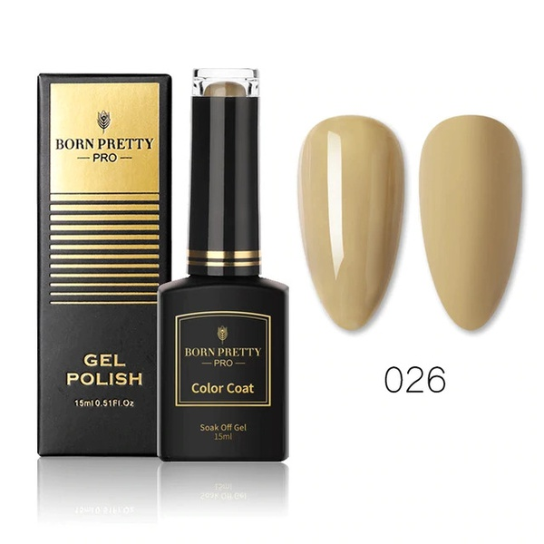 BORN PRETTY PRO UV/LED Gél Lakk - 15 ml No.026