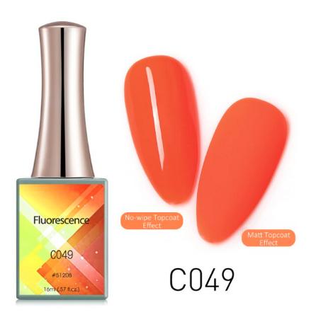 CANNI Fluorescence UV/LED gél lakk 16 ml No.C049