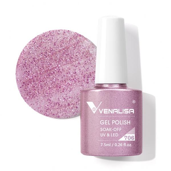 Venalisa UV/LED Gél Lakk 7.5 ml No.706