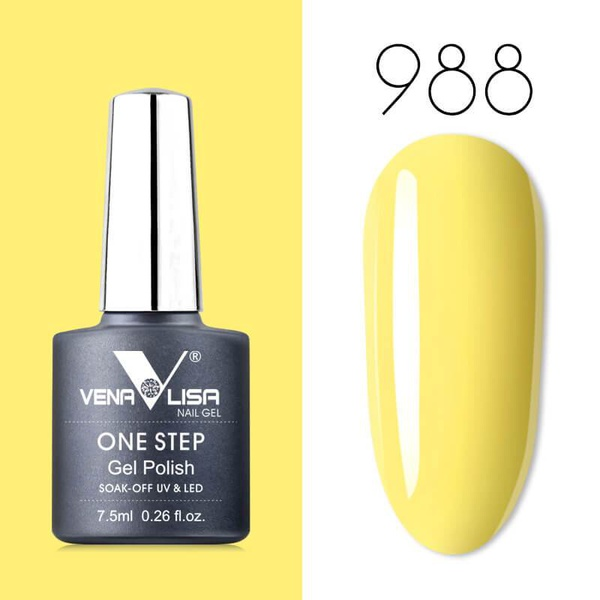 Venalisa UV/LED One Step Gél Lakk No.988 7.5 ml