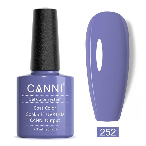 CANNI UV/LED gél lakk 7.3 ml No.252